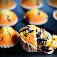 Vanilkové muffiny s ovocem